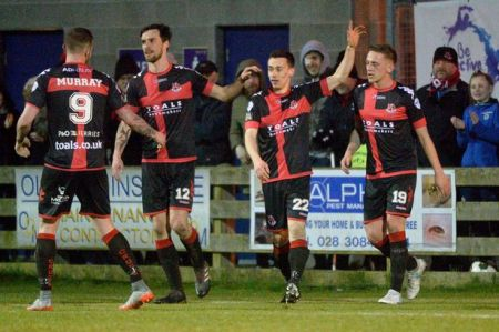 crusaders return to top of premiership as ballymena seal top six spot belfast live