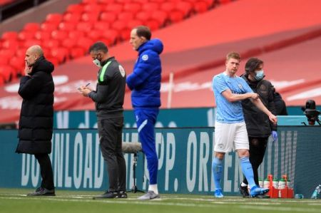 Manchester City Handed Kevin De Bruyne Injury Scare Ahead Of Carabao Cup  Final With Tottenham - Football.london