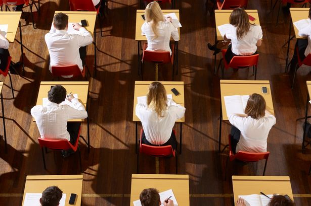 Fancy a job as a school exam invigilator  Here s how you can become     Children sitting an exam