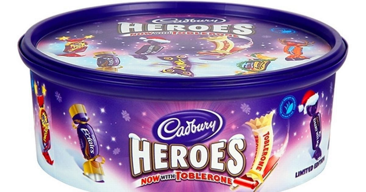 Get Giant Tubs Of Cadbury S Heroes Chocolates For Free At
