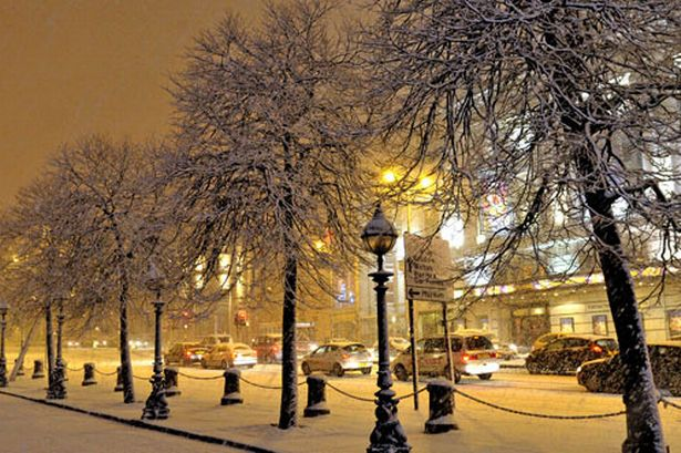 Liverpool snow: guide to the weekend weather across ...