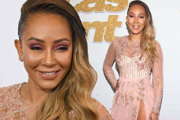 Mel B s face looks tight and strained as she parties ahead of  rehab     Mel B s face looks tight and strained as she parties ahead of  rehab stint