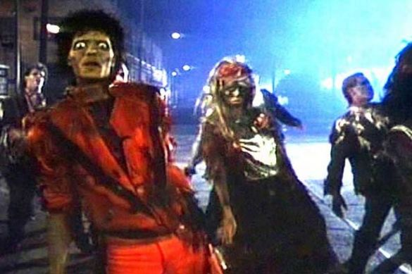 Michael Jackson s thriller named greatest music video of all time     Michael Jackson s Thriller  pic  SM screengrab