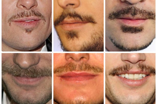 Movember: Can you correctly identify celebrities by their ...