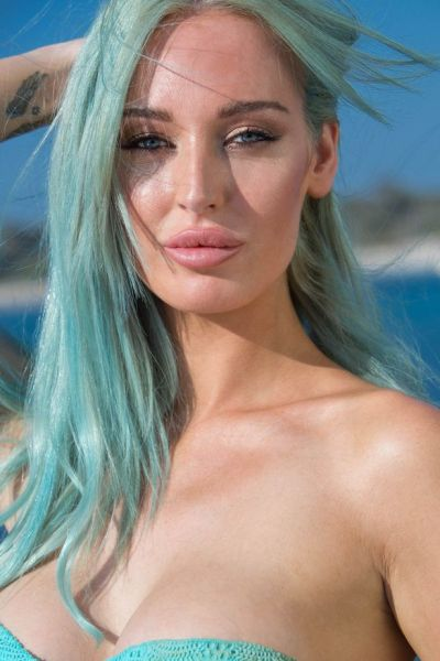 Love Island: Meet Daisy Muller - the blue-haired glamour ...