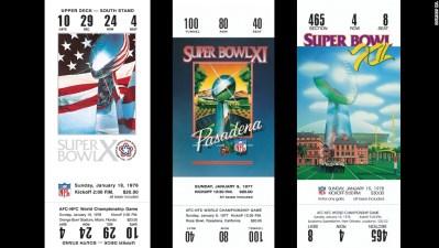 Super Bowl ticket designs - CNN