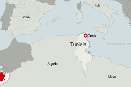 tunisia location on the africa map » Full HD MAPS Locations ...