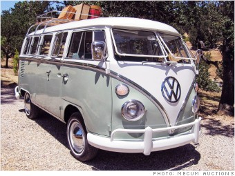 1965 Volkswagen Bus   Cool  relatively cheap  collectible cars from     pebble beach cheap cars vw bus