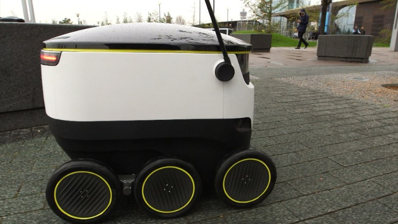This Robot Will Deliver Your Groceries Video Technology
