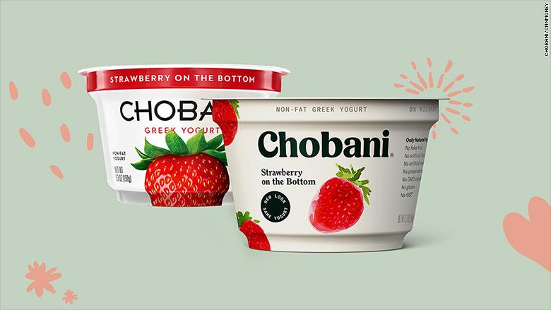 Cups Packaging Yogurt