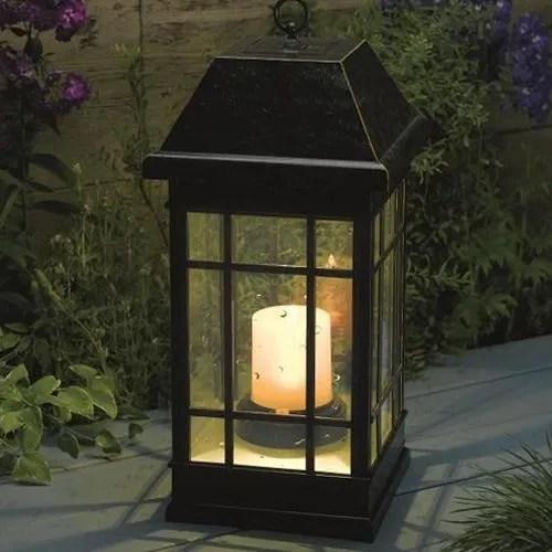 Large Solar Powered Garden Lanterns