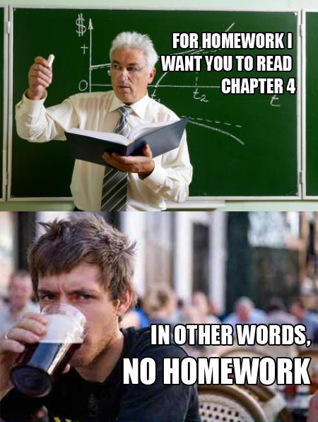 [Image - 257184] | Lazy College Senior | Know Your Meme