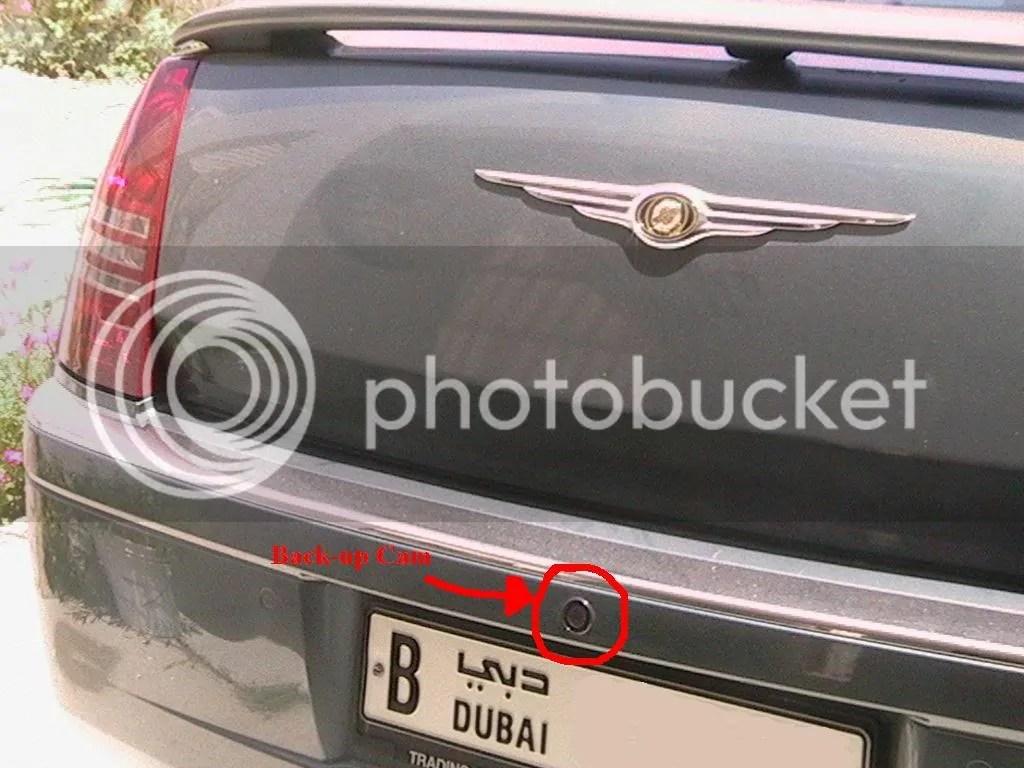 2005 Chrysler 300 Backup Camera