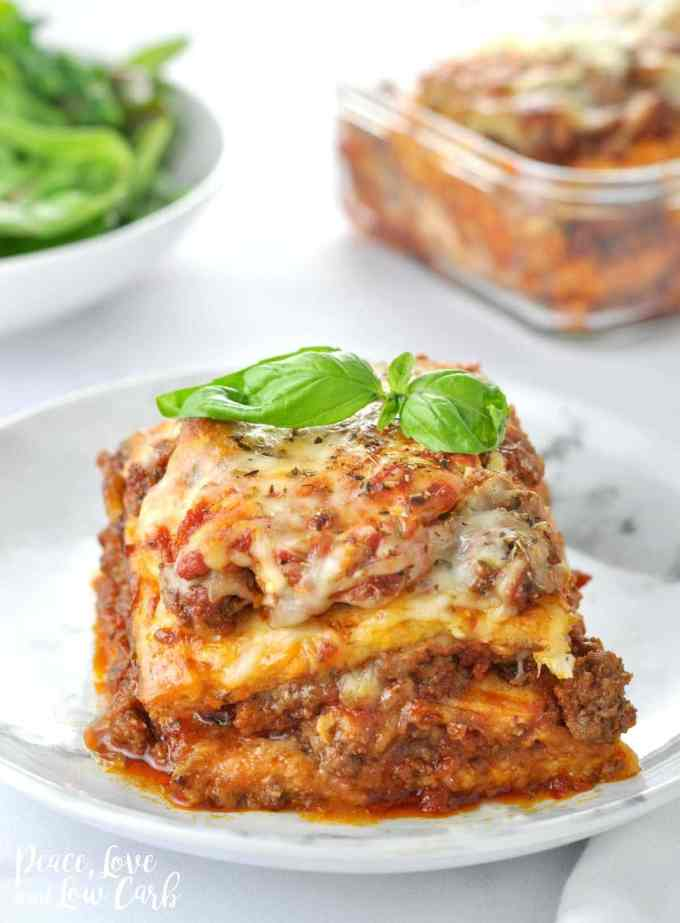 Quot Just Like The Real Thing Quot Low Carb Keto Lasagna Peace