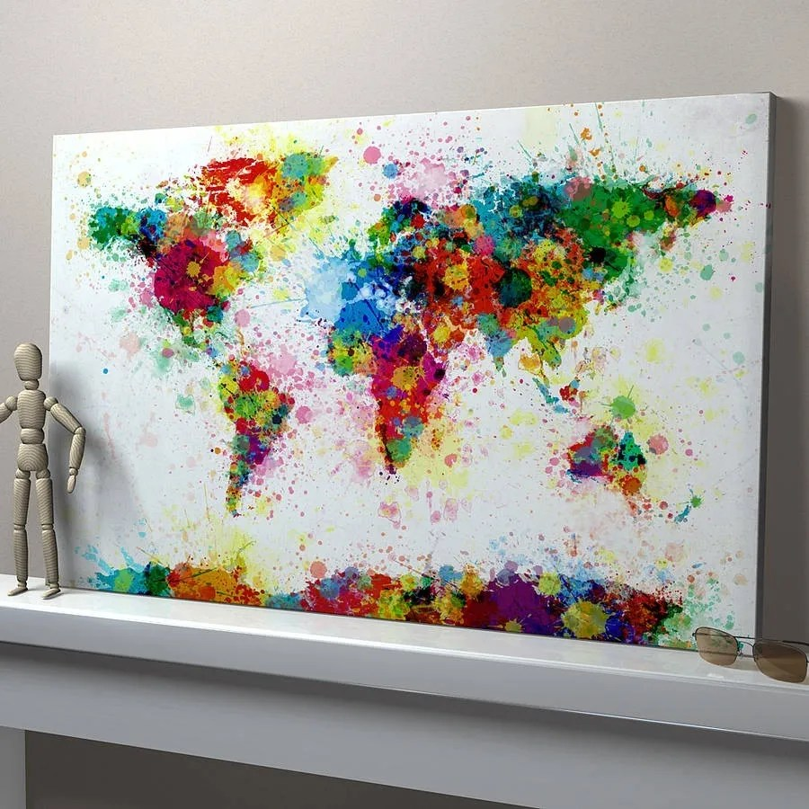 21 Easy Canvas Paintings and Techniques To Try - Useful ...