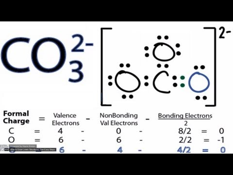 VDOmini.com - CO32- Lewis Structure - How to Draw the ...
