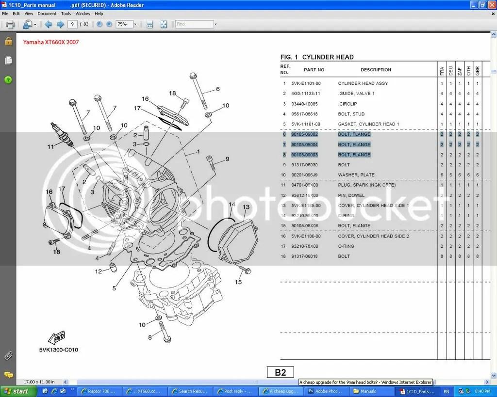 Yamaha Rhino Engine Diagram