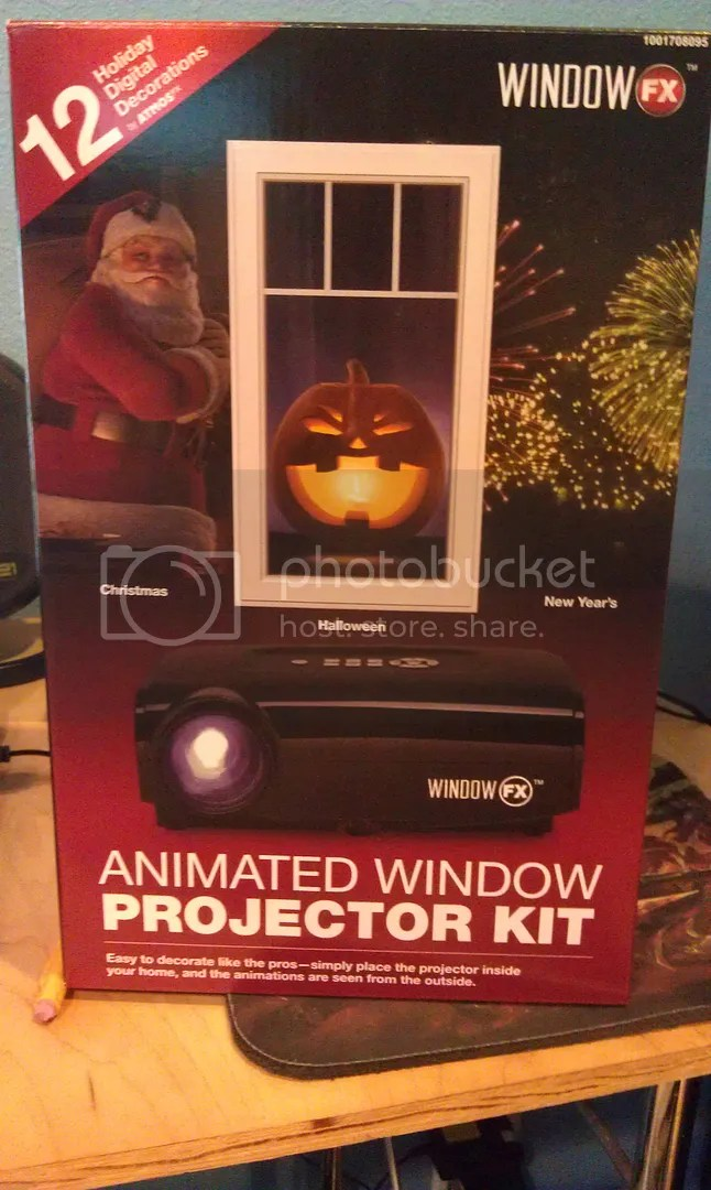 My Review The Home Depot Animated Window Projector Kit