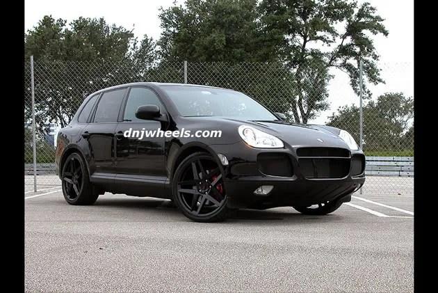 Standard Sizes Porsche Tire Cayenne