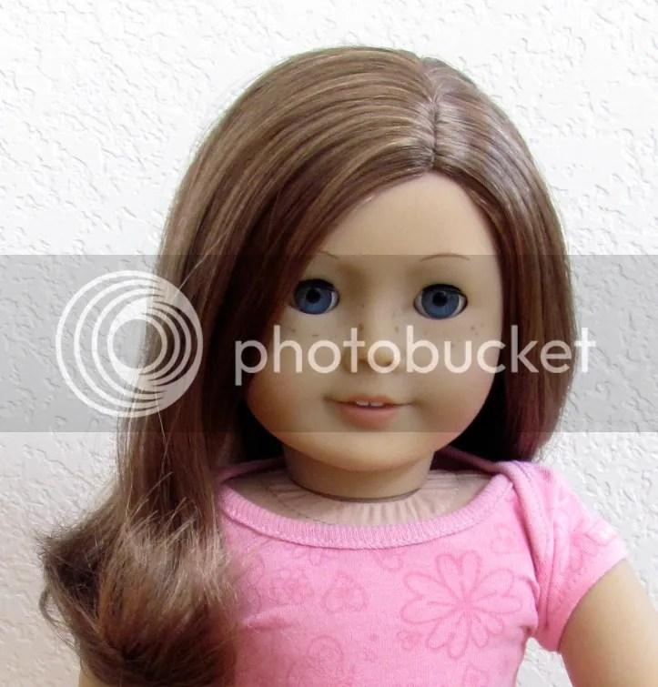 New Nib My American Girl Doll F1221 23 Lt Skin Brown