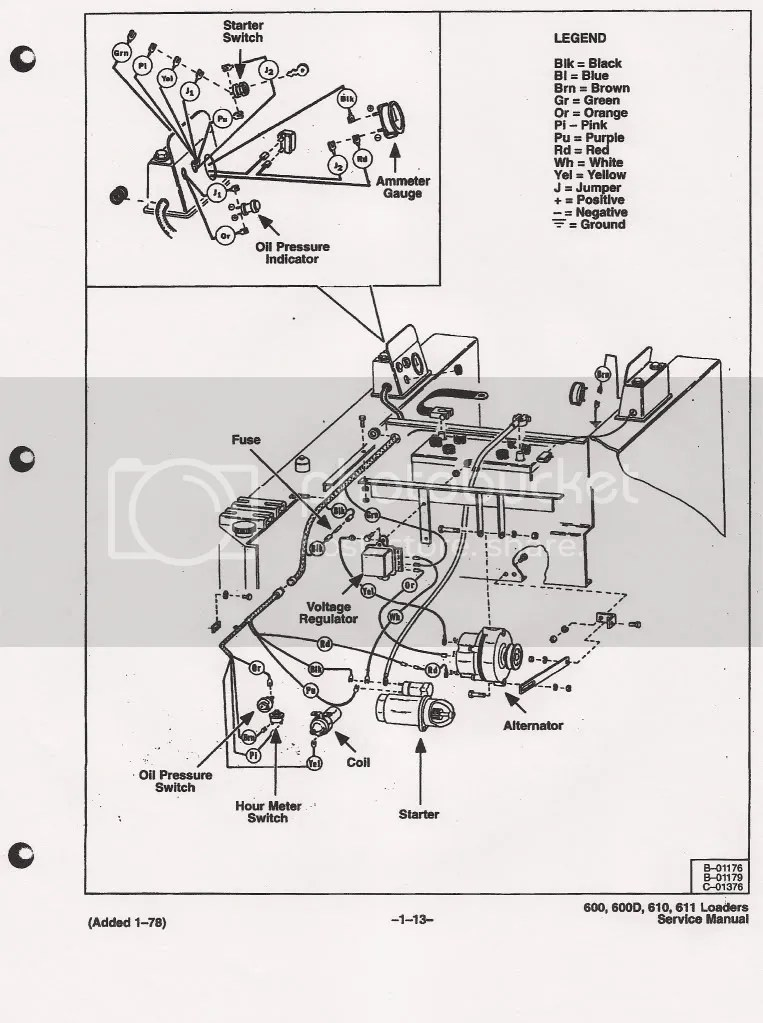 743 Bobcat Hydraulic Diagram