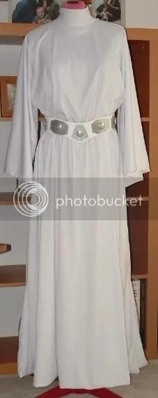 Princess Leia White Dress Pattern