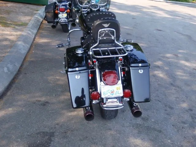 License Plate Relocation Road King