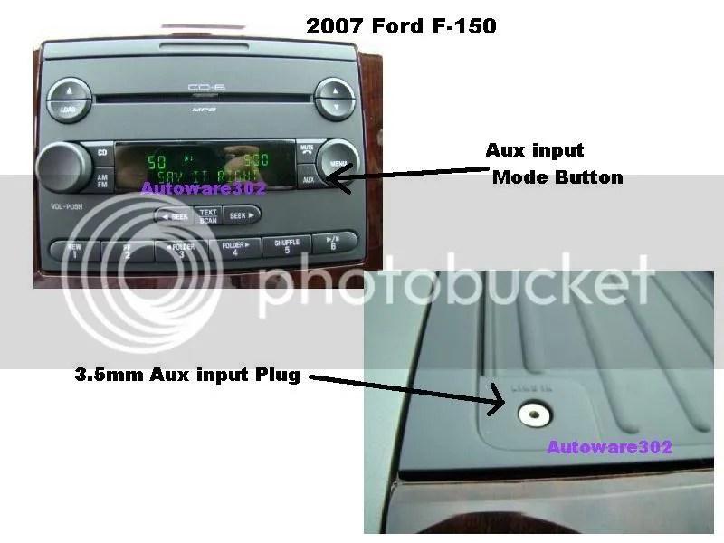 Radio Aux Plug 2005 150 F Ford