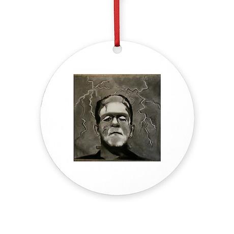 Frankenstein Round Ornament by ADMIN_CP78575183