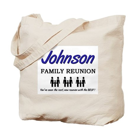 Johnson Family Reunion Tote Bag by familytshirts