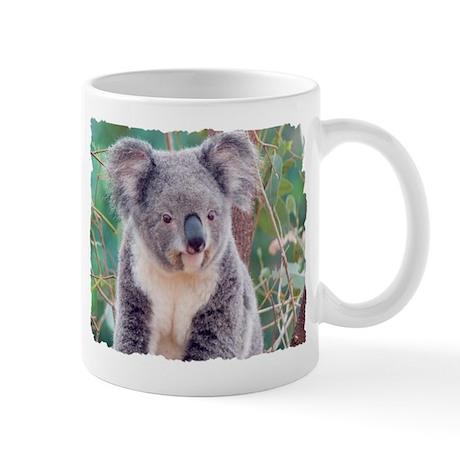 SMILING KOALA BEAR Mug by bostonart