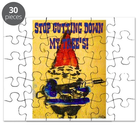 STOP CUTTING DOWN MY TREE'S Puzzle by rockgenius
