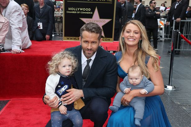 Blake Lively and Ryan Reynolds are joined by their ...