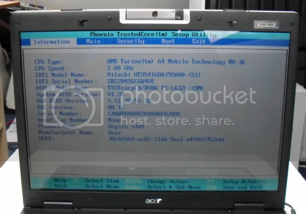 Acer 9300 9301 9303 Laptop Pc 17 Quot 2ghz 2gb 80gb Wifi Uk