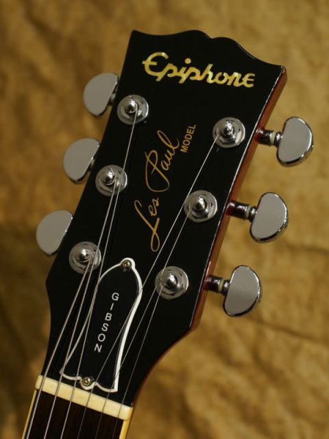 Vintage Gibson Les Paul Headstock