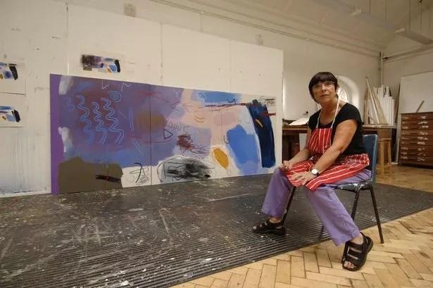 Artist Mary Lloyd Jones Celebrates Her 80th Birthday With