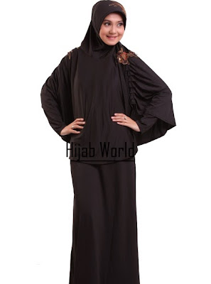 Image Result For Model Gamis Jersey Hitam