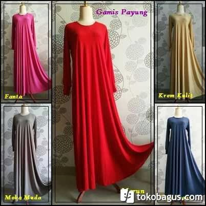 Rumah Hijab Savana Gamis Umbrella Savana Jersey Super Good Quality