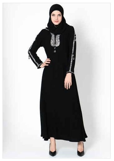 Model Baju Renda Abaya 1