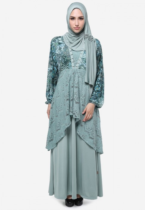 Image Result For Model Gamis Paduan Renda