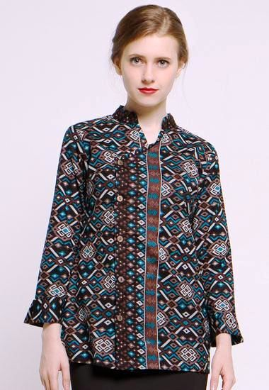 Image Result For Model Gamis Batik Anggun