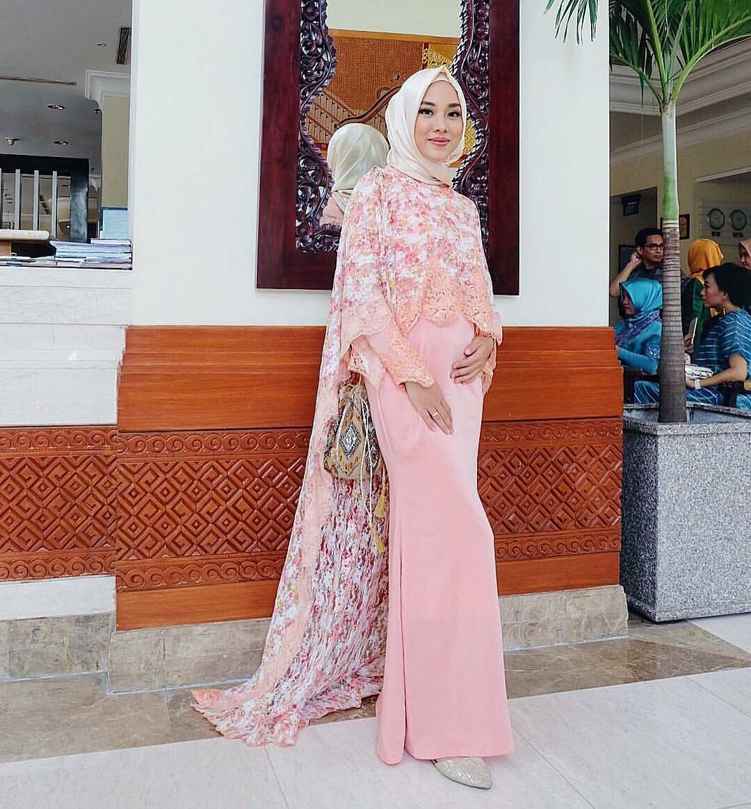 Image Result For Model Baju Gamis Brokat Modern Pesta