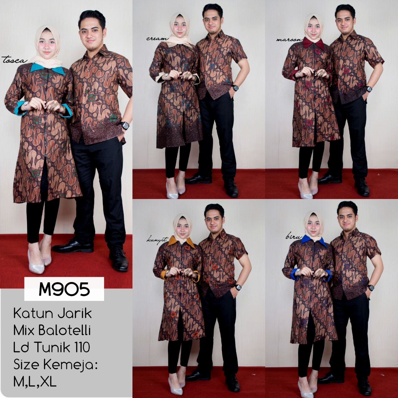 Model Baju Couple Tunik 1