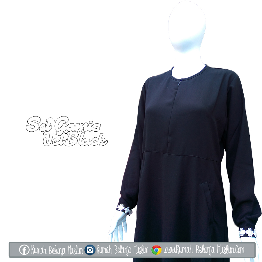 Image Result For Model Gamis Cadar Hitam