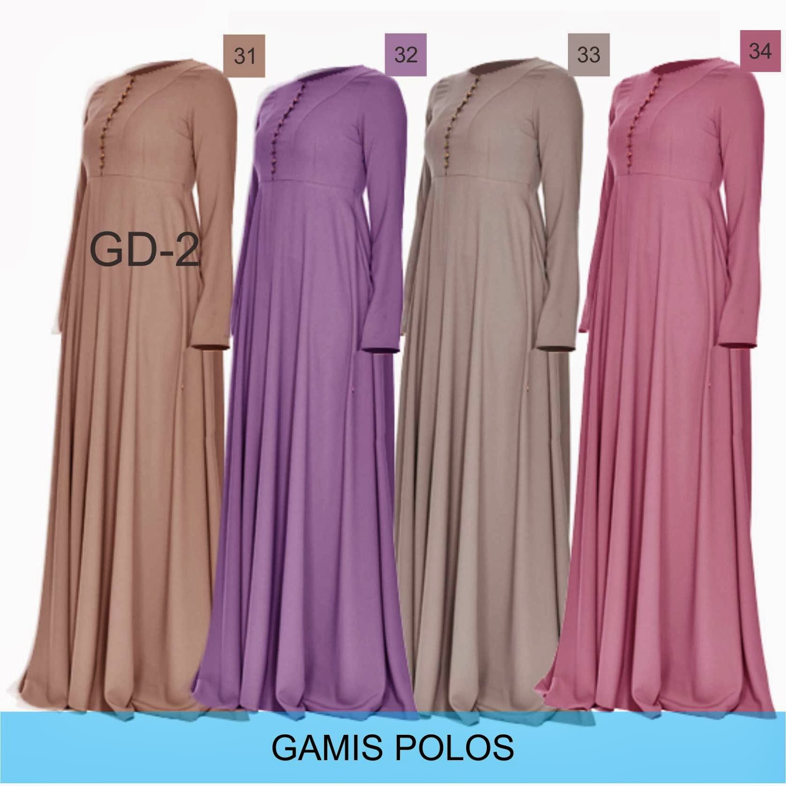 Image Result For Gamis Satin Kombinasi Katun