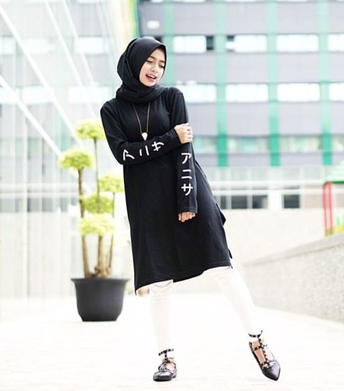 Image Result For Model Baju Gamis Batik Jaman Now