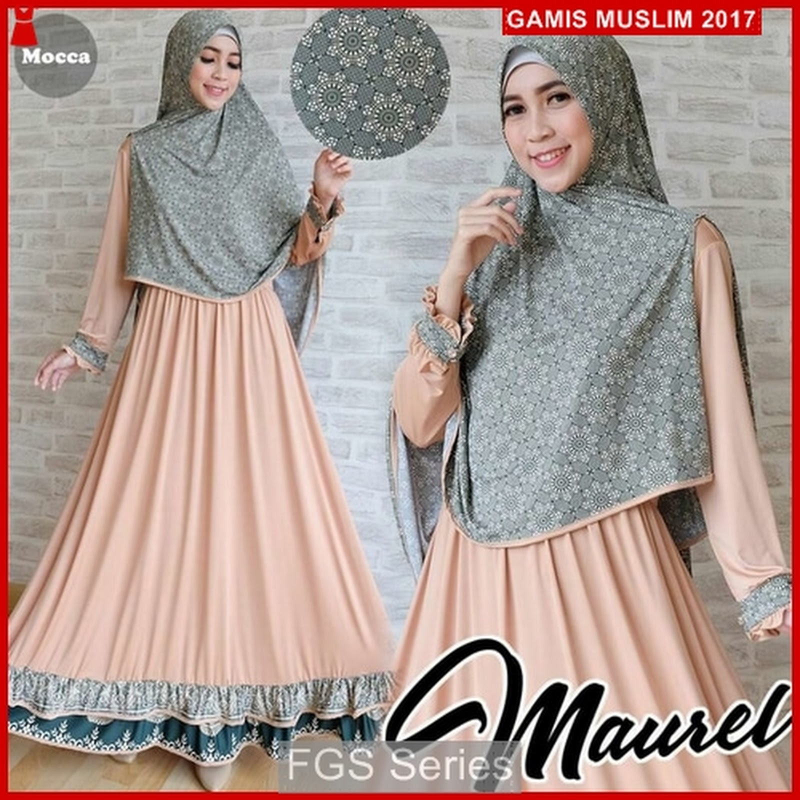 Model Gamis Plus Outer 2