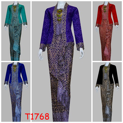 Image Result For Contoh Model Gamis Batik Embos