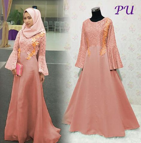 Image Result For Model Gamis Polos Kancing Depan