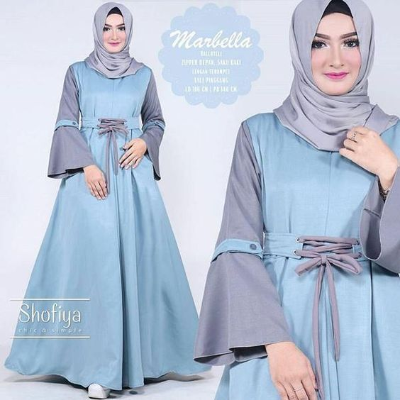 Image Result For Model Baju Gamis Hijabers